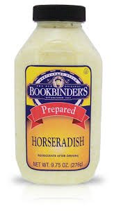 Bookbinders Prepared Horseradish 9.75 OZ