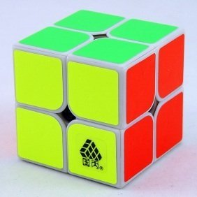 White WitTwo Type C 2x2x2 Cube Puzzle