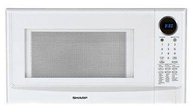 1.4 Cu. Ft. 1100 Watt Countertop Microwave - White