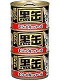 アイシア BT3-6 黒缶 まぐろの白身のせかつお 160g×3缶パック