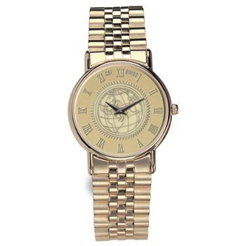 University of Chicago - Men's 18K Gold 7 Micron Watch