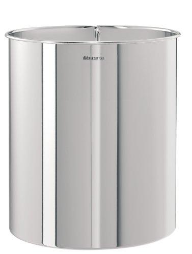 brabantia-181207-papelera-cilindrica-7-litros-acero-brillante