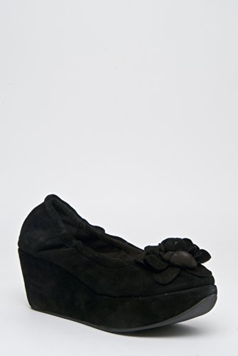 Restricted Delilah Platform Wedges