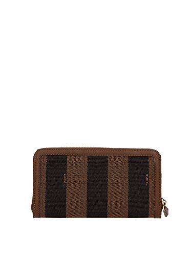 8M029900Q0ZF0E6U Fendi Brieftaschen Damen Stoff