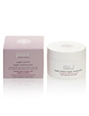 Pure Anti-Ageing Super Active Night Moisturiser 50ml
