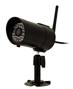 Frist Alert DWC-400 Wireless Security System with CM420 TVL and CMOS Color Camera, 500-Feet  Wireless Range