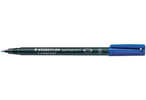 STAEDTLER Lot de 12 Lumocolors marqueur permanent 318F, bleu