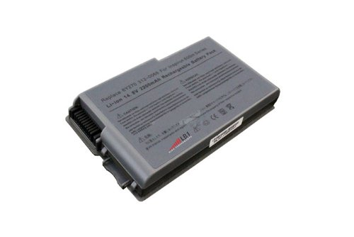 Dell Inspiron 500m/510m/600m Latitude D500/D505/D510/D520/D600/D610 Faithfulness M20/Mobile Workstation M20 Series Laptop Battery (14.8V, 2200mAh, 4-Stall) - Non-OEM