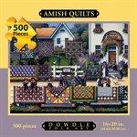 Cheap Dowdle Folk Art Amish Quilts for Sale Dowdle Folk Art 500 Piece Puzzle (B004X14DUK)