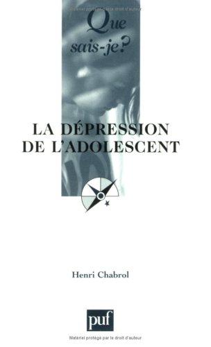La Dépression de l'adolescent