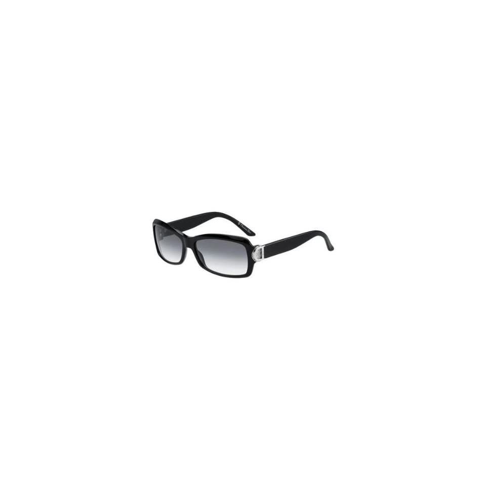 4c3bbc3bfe3 Christian Dior Womens By Dior 3 Black Frame Grey Gradient Lens Plastic  Sunglasses