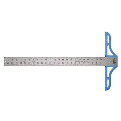 Heavy-Duty Aluminum T-Square Ruler Size: 48