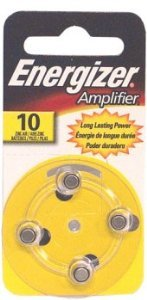 Energizer Amplifier Zinc-Air Hearing Aid Battery (PR-230PA, 10A, 230HPX, etc..)