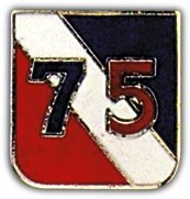 US Army 75th Infantry Division Lapel Pin
