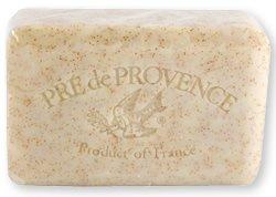 Pre de Provence Soap, Honey Almond, 8.8 -Ounce Cello Wrap