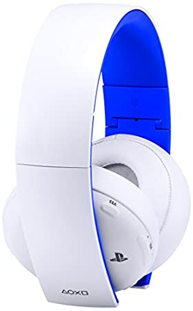 PlayStation Limited Edition Gold Wireless Headset - White