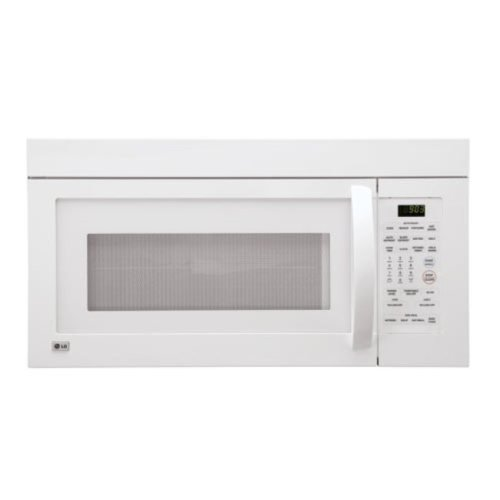 LG LMV1680WW Over-the-Range 1-3/5-Cubic-Foot Microwave Oven, White