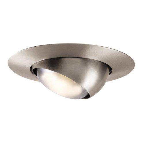 Best Buy ON Halo 78SN 6 Inch Eyeball Light Trim Satin Nickel FREE SHIPPIN