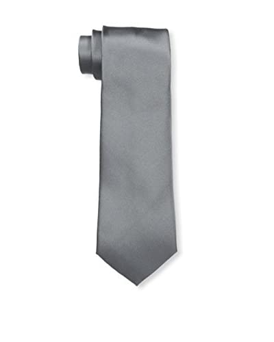 Valentino Men's Plain Tie, Beige/Blue