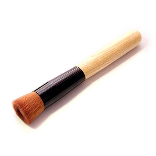 E-TOP Pinceaux Maquillage Brosse Cosmétique Brosse à Fond de Teint Pinceau de Maquillage Pinceau à Fond de Teint Professionel pour Liquide Crème Poudre(Concave)