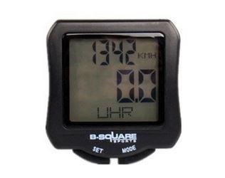 Black Cycling Lcd Computer Waterproof Backlight Odometer Speedometer Cateye Bicycle Computer Cyclocomputer Digital Speedometer