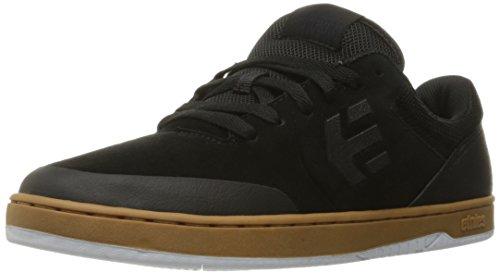 Etnies Men's Marana Skateboarding Shoe, Black/Gum/White, 8 M US