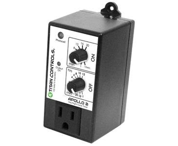 Titan Controls 702740 Apollo 2 Day And Night Cycle Timer With Photocell