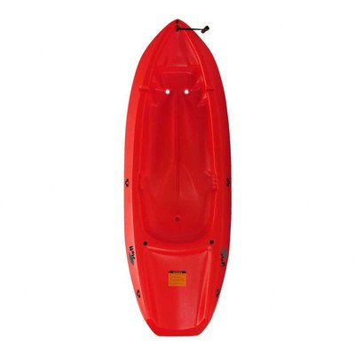 90242 Wave Youth Kayak with Paddle Color: Red by Lifetime
