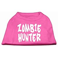 Zombie Hunter Screen Print Shirt Bright Pink L (14)