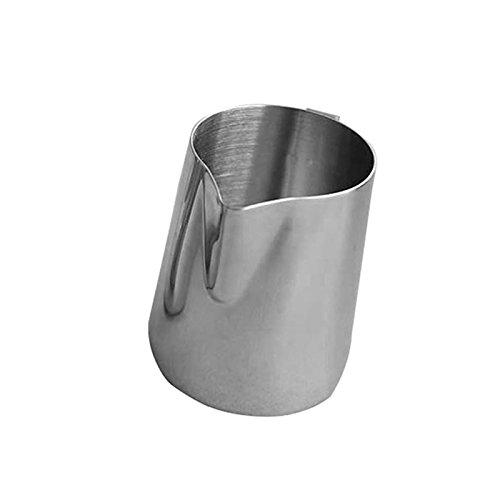 Sundautumn Pot a Lait en Acier Inoxydable pour Cafe Latte/Cappucino, Cafe Creme et Mousse de Lait, 300ML