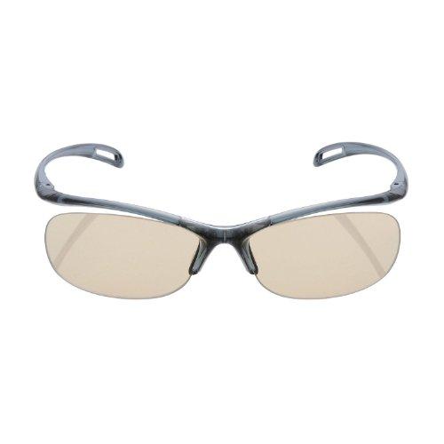 Elecom Blue Light measures Glasses PC GLASSES (65% cut) (rimless type Navy) OG-YBLP01NV (Elecom Blue Light compare prices)