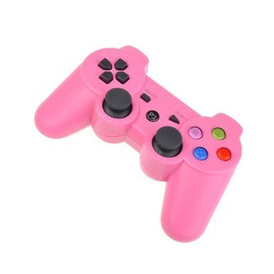 Avalid Pink Wireless Bluetooth Six Axis Dualshock Game Controller for Sony PS3