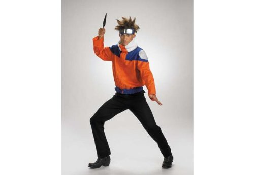 Naruto Deluxe Child Jacket Costume