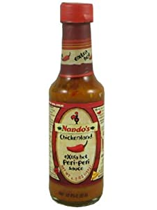 Nandos Extra Hot Peri-peri Sauce 2 X 125ml Pack by Chickenland (Pty) Ltd.