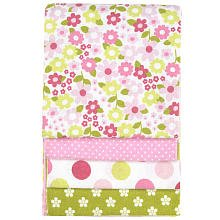 Carter's Wrap Me Up Receiving Blanket, Floral Pop (Discontinued by Manufacturer)