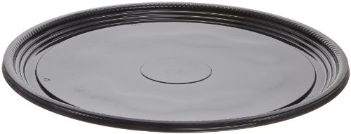 caterline-casuals-plastic-platter-round-tray-18-inch-black-25-count