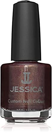 JESSICA Custom Nail Colour, Hot Fudge 14.8 ml