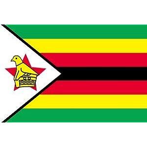 世界の国旗 ジンバブエ 国旗 [70×105cm 高級テトロン製]