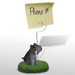 Kerry Blue Terrier Memo Holder (Set of 3)