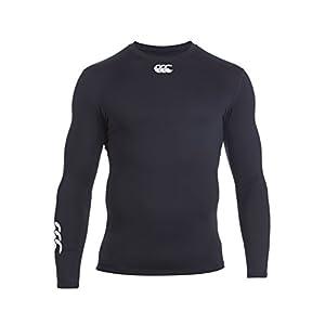 Canterbury Men's Baselayer Cold Long Sleeve Top - X-Small, Black