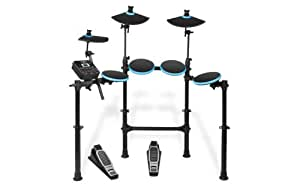 ALESIS DM Lite Kit | 5-Piece Electronic Drum Set with Collapsible 4-Post Rack (Drum Sticks Included)