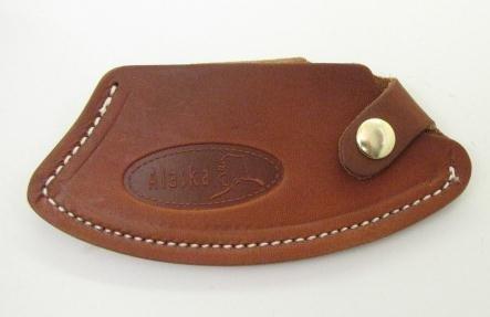 Alaska Genuine Leather Ulu Knife Quality Sheath