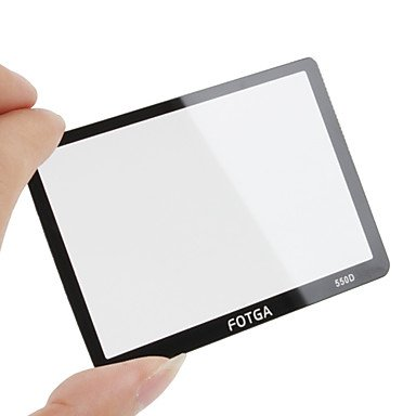 Limme Fotga Premium Lcd Screen Panel Protector Glass For Canon Eos 550D