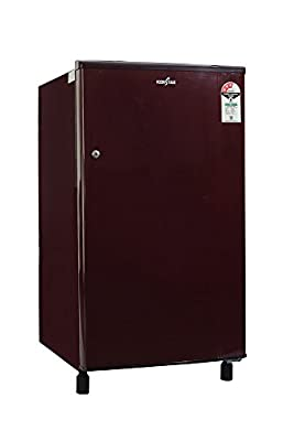 Kenstar NH163BBR-FDA Direct-cool Single-door Refrigerator (150 Ltrs, 3 Star Rating, Burgundy Red)