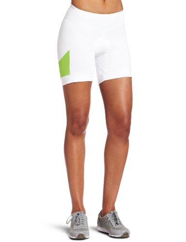 Where to buy Pearl Izumi Women's White Sugar Short,White/Green Flash,X ...