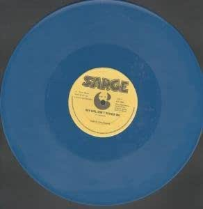 "HEY GIRL DON'T BOTHER ME 12"" SINGLE UK SARGE 0 2 TRACK BLUE VINYL B/W INSTRUMENTAL VERSION BY REGGAE PHILHARMONIC ORCHESTRA (CP1001)"