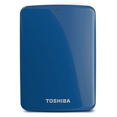 Toshiba Canvio Connect 2TB Portable Hard Drive Blue (HDTC720XL3C1)