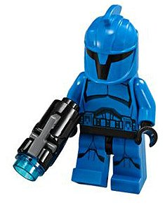 LEGO Star Wars The Clone Wars Loose Senate Commando Minifigure [Loose]
