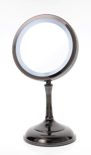 Miroir grossissant avec lumiere pas cher for Miroir avec lumiere