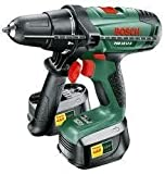 BOSCH 18v CORDLESS LITHIUM COMBI DRILL x2 BATTERIES ,FAST CHARGER IN BOSCH CARRYING CASE
